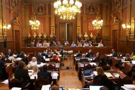 Séance du conseil municipal de Bordeaux