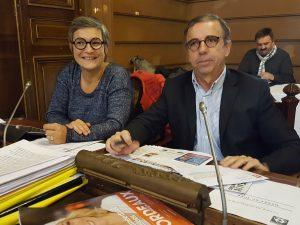 Delphine Jamet Pierre Hurmic groupe écologiste conseil municipal de Bordeaux