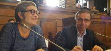 Pierre Hurmic Delphine Jamet groupe écologiste au conseil municipal de Bordeaux