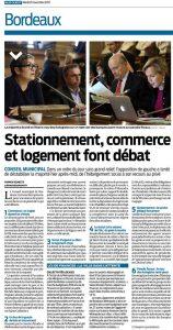 Conseil municipal de Bordeaux Pierre Hurmic Delphine Jamet CR Sud-Ouest