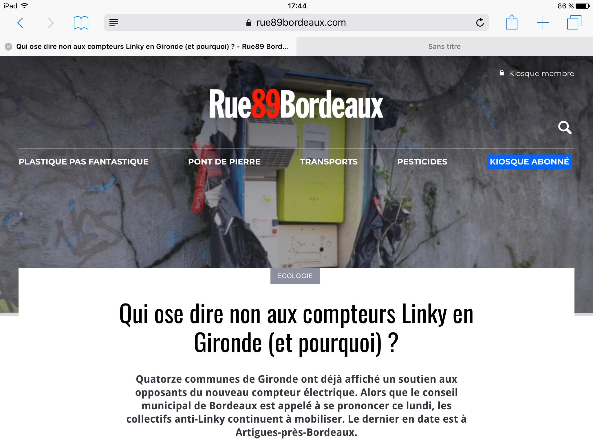 Linky Bordeaux